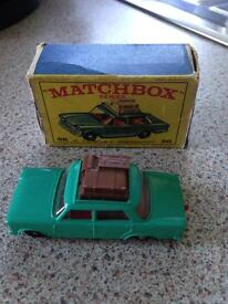 Match box fiat 1500 car