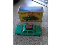 Match box fiat 1500 car