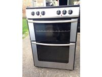 £122.00 New world sls/Blackc eramic electric cooker+60cm+3 months warranty for £122.00