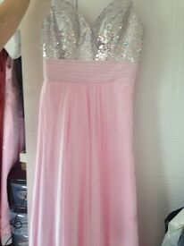 Beautiful pink prom /evening dress