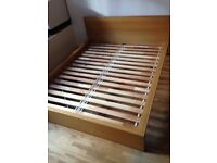 Ikea malm mint condition 160x200