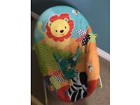 Bright Starts vibrating baby bouncer chair seat