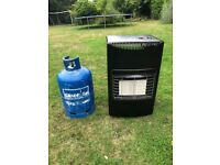 Portable gas heater in excellent condition comes with empty 15 kg calor gas bottle BARGAIN