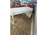 Ikea White drawers, dressing table,desk, table, office, bedroom furniture