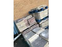 Concrete flags slabs various sizes available paving