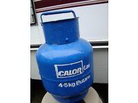 FULL 4.5 KG CALOR GAS BOTTLE IDEAL FOR CAMPER /CAMPING USE ONLY £20