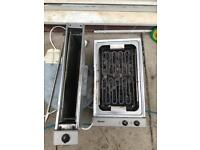 Miele indoor BBQ with down drafter