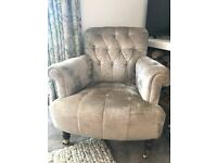 Laura Ashley upholstered chair