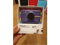 Polaroid snap camera. Unopened