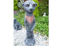 meercat garden ornament £14
