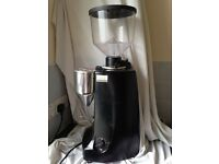 Mazzer Robur E Coffee Grinder - Black Finish