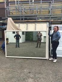Very large vintage mirror