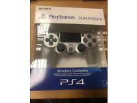 PLAYSTATION PS4 DUAL SHOCK 4 SILVER CONTROLLER BRAND NEW SEALED