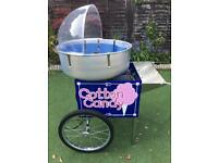 Electric cotton candy floss machine and cart 1700w (Cretors and Co)