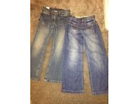 Girls next jeans two pairs aged 9 yrs one pair new with tag