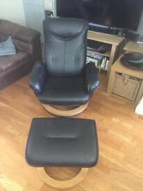Recline Chair + Footrest