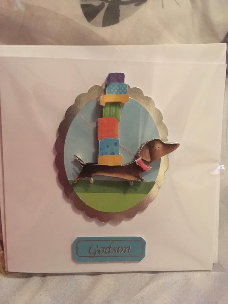 Godson Birthday Card