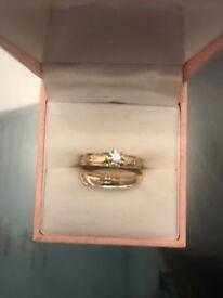 2 10 carat hallmarked rings