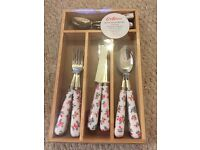 Beautiful brand new set of Cath kidston cutlery