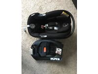 Cybex group 1 car seat with isofix base