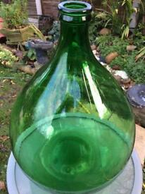 Home brew large carbon demijohn, 56 litres, for wine making, bottle gardens etc