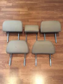 Ford Mondeo Mk3 Full set of leather headrests