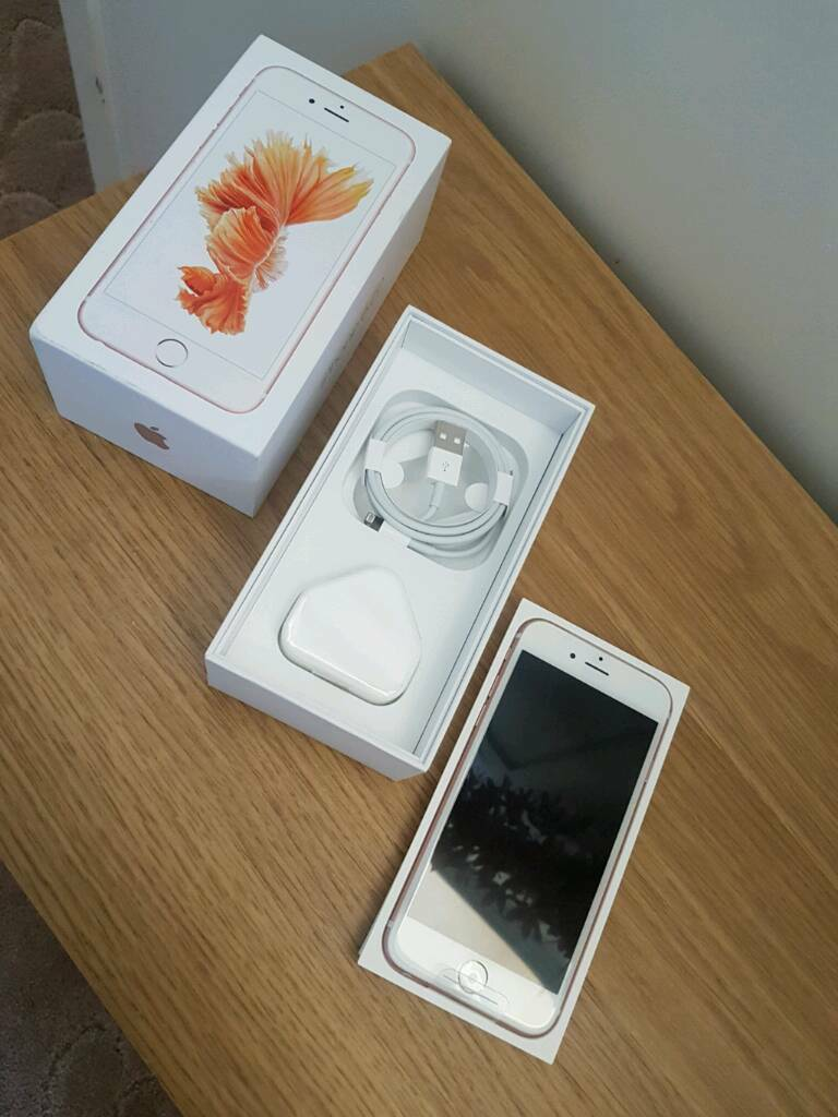 iPhone 6s Rose Gold 16gbin Greenwich, LondonGumtree - iPhone 6s Rose Gold 16gb locked to Vodafone.This is a replacement phone from Apple 2/3 weeks ago under the warranty, as Ive bought a Samsung I no longer need this and have not used it so practically a new phone. Comes with box and charger no...