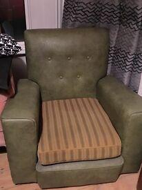 1970's armchairs