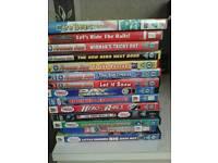 DVDs, Thomas the tank engine, fireman sam, supernatural, heroes