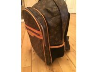 LV style back pack bag