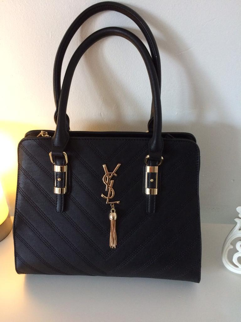 Ladies brand new black fashion bag