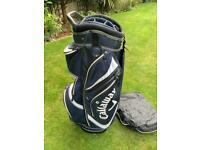 Callaway Golf Cart Bag & Rain Hood