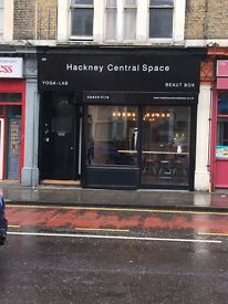 Pop up Shop / Space Hire in Hackney Central - Cheap rates from £25 per hour