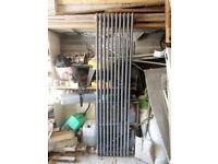Milano 3 column radiator (anthracite) with valves, 1800 x 470 (7407 btus)