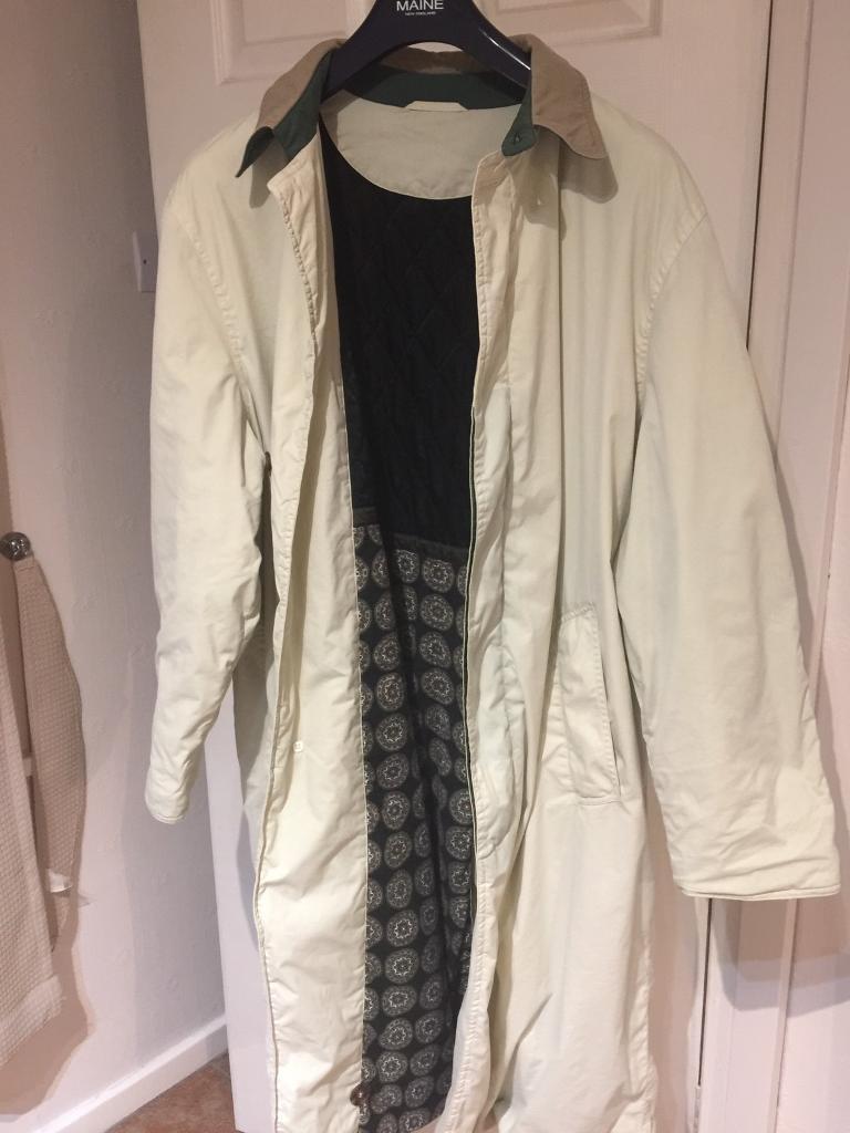 d3f882059fe Hugo boss full length beige coat genuine large fit reduced for quick sale