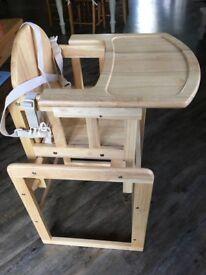 Wooden Highchair - East Coast Combination