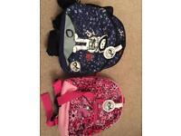 Zip & Zoe backpacks with parent strap