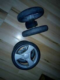 Silver Cross replacement front swivel wheels