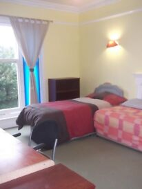 One room, large first floor flat central to Westbourne / Bournemouth - AVAILABLE NOW