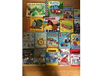 Kids books and DVD bundle