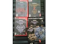 7D Neverwinter Nights 1 with 2x Expansion Packs & Neverwinter Nights 2 - VGC