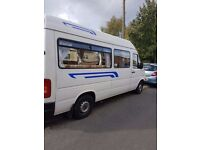 volkswagen lt35 camper conversion vgc inside & out long mot may part x