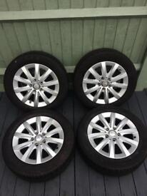 Alloy Wheel and Tyers