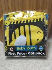 As new baby cot/pram book