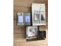 Silver Nintendo Ds Lite Boxed