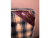 Double mattress orthopaedic excellent condition