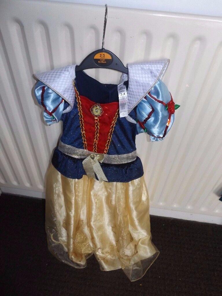 Disney halloween fancy dress snow white princess
