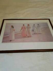 Framed print picture