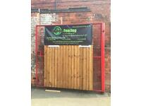 Heavy Duty,Vertical lap fence panels for sale 5x6, £23.00 each
