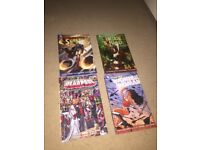 DC graphics novels + marvel graphic novel